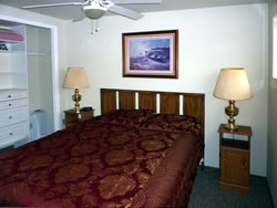 bedroom furnished