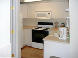 Apartment kitchen furnished