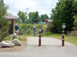 Centennial Trailhead in Spokane Valley